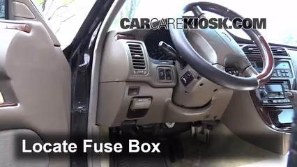 interior fuse box location 2002 2006 infiniti q45 2002 infiniti 2002 Ford Escape Fuse Diagram