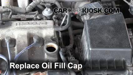how to add oil mazda 626 1998 2002 1998 mazda 626 lx 2 0l 4 cyl rh carcarekiosk com 2000 Mazda 626 Vacuum Diagram Mazda 626 Parts Diagram