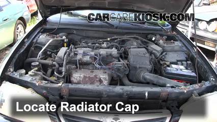1998 Mazda 626 LX 2.0L 4 Cyl.%2FRadiator Coolant Part 1 coolant flush how to mazda 626 (1998 2002) 1998 mazda 626 lx 2 0l