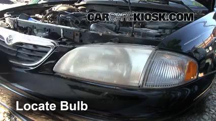 headlight change 1998 2002 mazda 626 1998 mazda 626 lx 2 0l 4 cyl mazda  parts headlights mazda 2000 626 wiring headlight