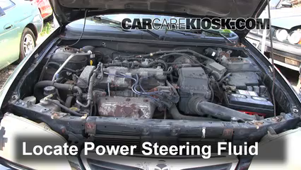 1998 Mazda 626 LX 2.0L 4 Cyl. Power Steering Fluid