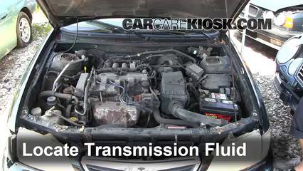 add transmission fluid 1998 2002 mazda 626 1998 mazda 626 lx 2 0l rh carcarekiosk com Mazda 626 Parts Diagram 2002 Mazda 626 Belt Diagram