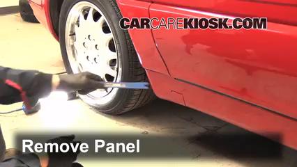 Fix a Flat Tire: Mercedes-Benz SL500 (1990-2002) - 1998