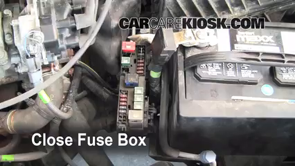 1998 Nissan Altima GXE 2.4L 4 Cyl.%2FFuse Engine Part 2 replace a fuse 1998 2001 nissan altima 1998 nissan altima gxe 2000 nissan altima fuse box location at n-0.co