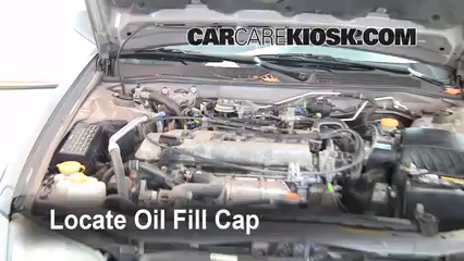 How To Add Oil Nissan Altima (1998 2001)