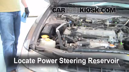 Fix Power Steering Leaks Nissan Altima (1998-2001) - 1998