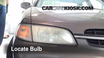 Headlight Change 1998 2001 Nissan Altima