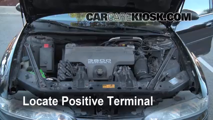 1998 Oldsmobile Intrigue GL 3.8L V6 Battery Jumpstart