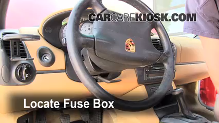 Fuse Interior Part 1 interior fuse box location 1997 2004 porsche boxster 1998 2005 porsche cayenne fuse box location at n-0.co