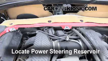 1998 Porsche Boxster 2.5L 6 Cyl. Power Steering Fluid