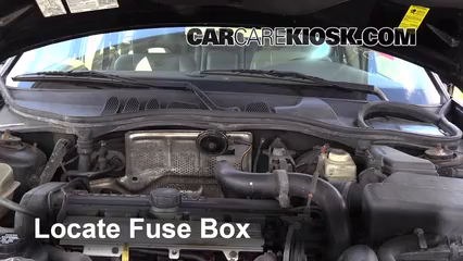 1998 volvo v70 awd 2 4l 5 cyl  turbo fuse (engine) replace
