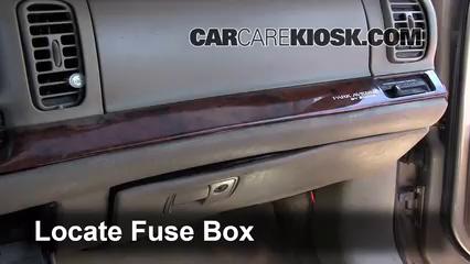 1998 Buick Park Avenue 3.8L V6 Fuse (Interior) Check