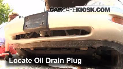 1998 Buick Park Avenue 3.8L V6 Huile Changer l'huile et le filtre à huile