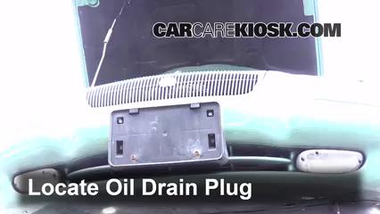 1998 Chrysler Cirrus LXi 2.5L V6 Huile Changer l'huile et le filtre à huile