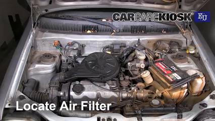 1998 Daewoo Tico SE 0.8L 3 Cyl. Filtre à air (moteur)
