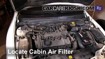 1998 Fiat Marea SX Estate 1.9L 4 Cyl. Turbo Diesel Air Filter (Cabin)