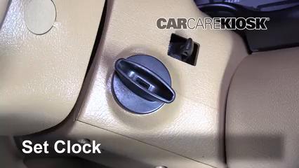 1998 Ford Mustang GT 4.6L V8 Convertible Horloge