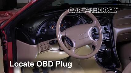 1998 Ford Mustang GT 4.6L V8 Convertible Lumière « Check engine » du moteur