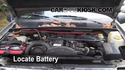 1998 Jeep Grand Cherokee TSi 4.0L 6 Cyl. Battery Jumpstart