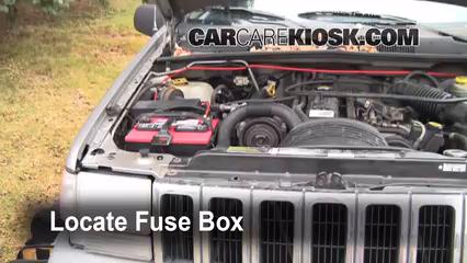 1998 Jeep Grand Cherokee TSi 4.0L 6 Cyl. Fuse (Engine)