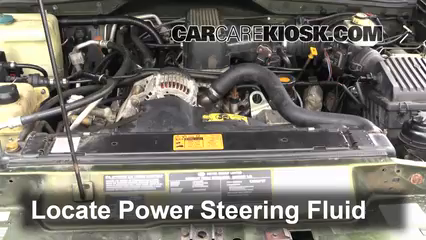 1998 Land Rover Discovery LSE 4.0L V8 Power Steering Fluid Fix Leaks