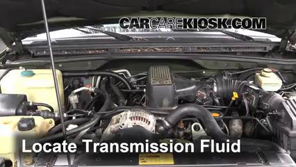 1998 Land Rover Discovery LSE 4.0L V8 Transmission Fluid