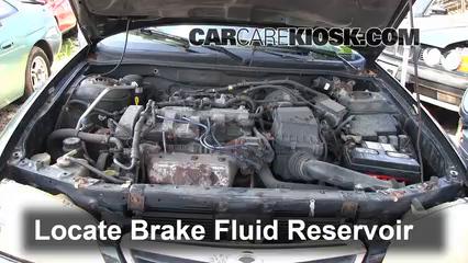 1998 Ford Contour LX 2.0L 4 Cyl. Brake Fluid