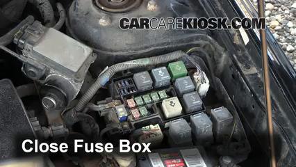 Replace a Fuse: 1998-2002 Mazda 626 - 1998 Mazda 626 LX 2.0L 4 Cyl. | 1998 Mazda 626 Fuse Box |  | CarCareKiosk