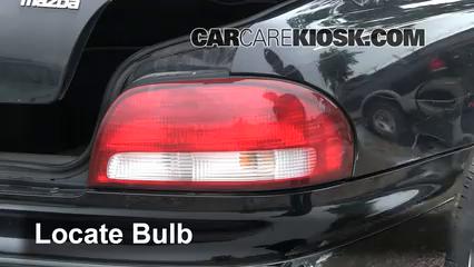 1998 Mazda 626 LX 2.0L 4 Cyl. Lights