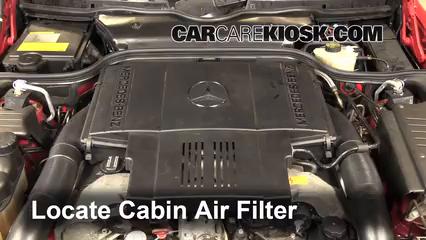 1998 Mercedes-Benz SL500 5.0L V8 Filtro de aire (interior)