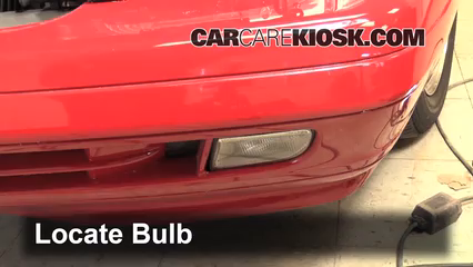 1998 Mercedes-Benz SL500 5.0L V8 Luces Luz de niebla (reemplazar foco)
