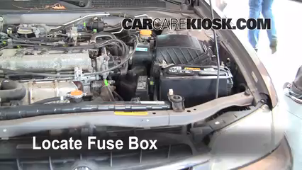 1998 Nissan Altima GXE 2.4L 4 Cyl. Fusible (motor)