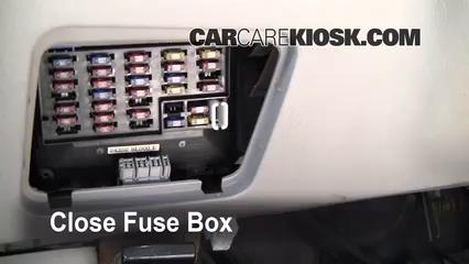 Interior Fuse Box Location: 1998-2001 Nissan Altima - 1998 Nissan Altima  GXE 2.4L 4 Cyl. | 1998 Nissan Altima Fuse Box Diagram |  | CarCareKiosk