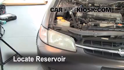 1998 Nissan Altima GXE 2.4L 4 Cyl. Líquido limpiaparabrisas