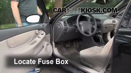 Interior Fuse Box Location: 1998-2002 Oldsmobile Intrigue - 1998 Oldsmobile  Intrigue GL 3.8L V6 | 99 Oldsmobile Intrigue Fuse Box |  | CarCareKiosk