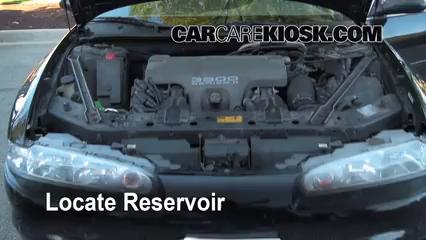1998 Oldsmobile Intrigue GL 3.8L V6 Líquido limpiaparabrisas Controlar nivel de líquido