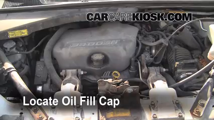 1998 Pontiac Trans Sport Montana 3.4L V6 (4 Door) Oil