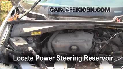1998 Pontiac Trans Sport Montana 3.4L V6 (4 Door) Power Steering Fluid