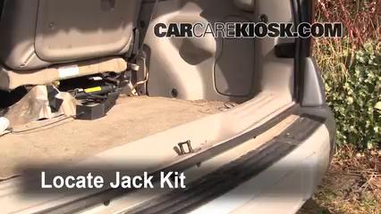 1998 Pontiac Trans Sport Montana 3.4L V6 (4 Door) Jack Up Car