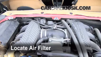 1998 Porsche Boxster 2.5L 6 Cyl. Air Filter (Engine)