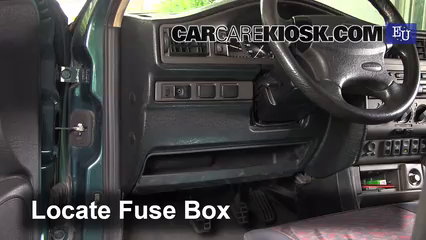 1998 SEAT Toledo TDI SE 1.9L 4 Cyl. Turbo Diesel Fuse (Interior)
