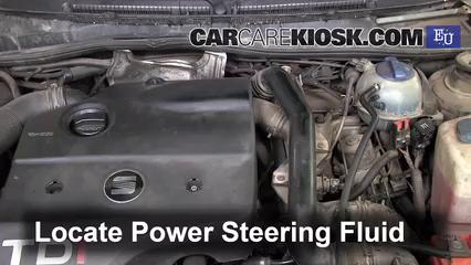 1998 SEAT Toledo TDI SE 1.9L 4 Cyl. Turbo Diesel Power Steering Fluid