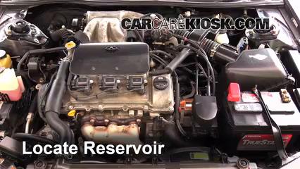 1998 Toyota Camry XLE 3.0L V6 Líquido limpiaparabrisas Agregar líquido