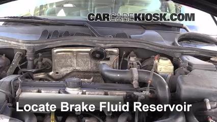 1998 Volvo V70 AWD 2.4L 5 Cyl. Turbo Brake Fluid