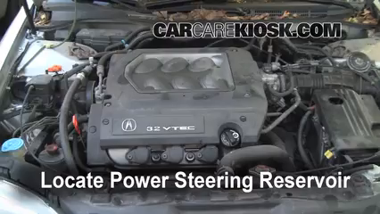 Fix Power Steering Leaks Acura Tl 19992003 1999 32l V6. 5 Find Reservoir Locate The Power Steering Fluid. Acura. 1997 Acura Tl 3 2tl Belt Diagram At Scoala.co