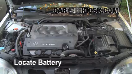 1999 Acura TL 3.2L V6 Battery Clean Battery & Terminals