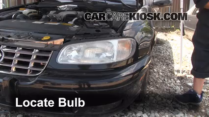 1999 Cadillac Catera 3.0L V6 Lights Parking Light (replace bulb)
