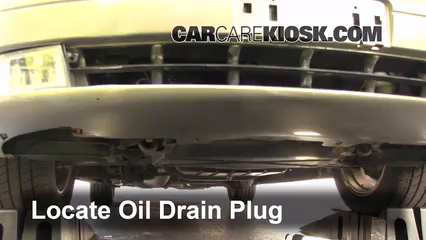1999 Cadillac Catera 3.0L V6 Oil Change Oil and Oil Filter