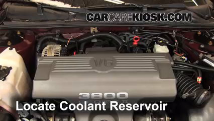 1999 Chevrolet Monte Carlo Z34 3.8L V6 Coolant (Antifreeze) Add Coolant