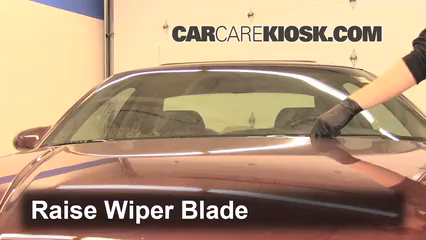 1999 Chevrolet Monte Carlo Z34 3.8L V6 Windshield Wiper Blade (Front) Replace Wiper Blades